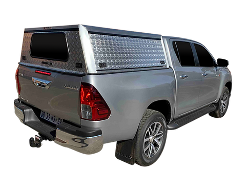 Entry Level Level New Hilux Revo Double Cab Canopy - GZ Aluminium Canopi