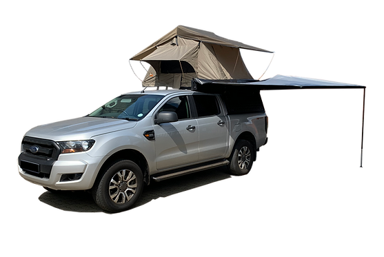 Mid Range DC Canopy + Roof Rack + Awning + Rooftop Tent - GZ Aluminium Canopies