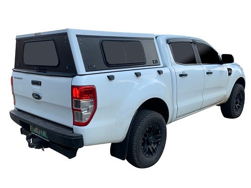Mid Range Ford Ranger Double Cab Canopy With Side Window - GZ Aluminium Canopies