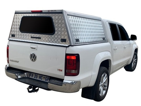 Entry Level VW Amarok Double Cab Canopy - GZ Aluminium Canopies