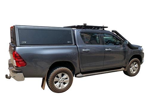 Pro Series Toyota Hilux Revo DC Canopy  - GZ Aluminium Canopies