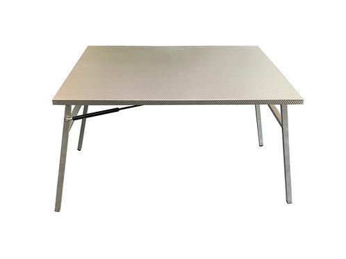 Aluminium Table & Drop Down Slide - GZ Aluminium Canopies
