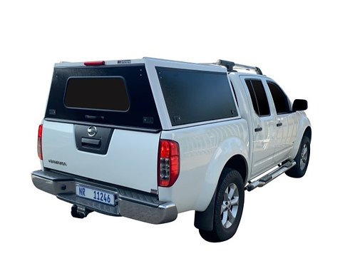 Pro Series Nissan Navara Double Cab Canopy - GZ Aluminium Canopies