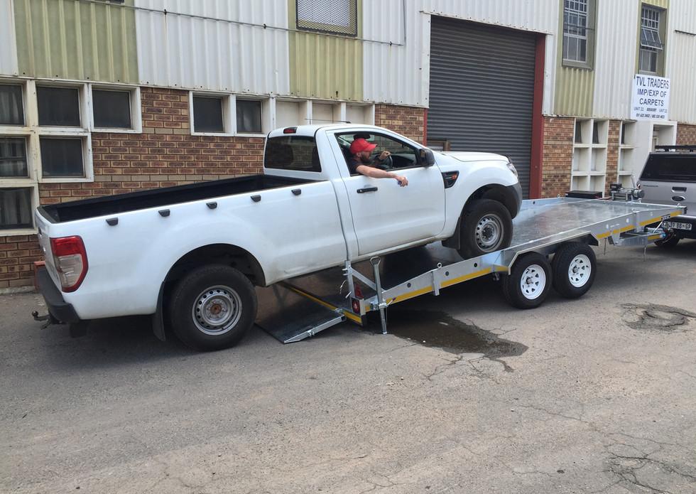 Double Axle Car Trailer