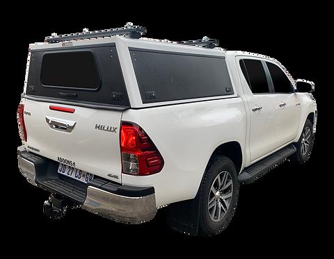 Mid Range Toyota Hilux Revo DC Canopy + Load Bars - GZ Aluminium Canopie