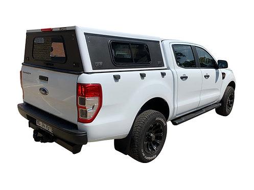 Pro Series Ford Ranger DC Canopy + Side Windows - GZ Aluminium Canopies