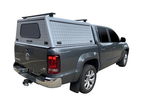 Mid Range VW Amarok Double Cab Canopy + Load Bars - GZ Aluminium Canopies