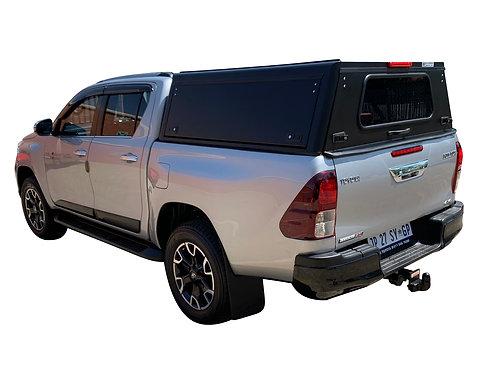 Pro Series Toyota Hilux Revo DC Canopy  - GZ Aluminium Canopi