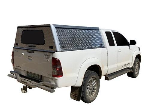Entry Level Toyota Hilux Vigo Super Cab Canopy - GZ Aluminium Canopies
