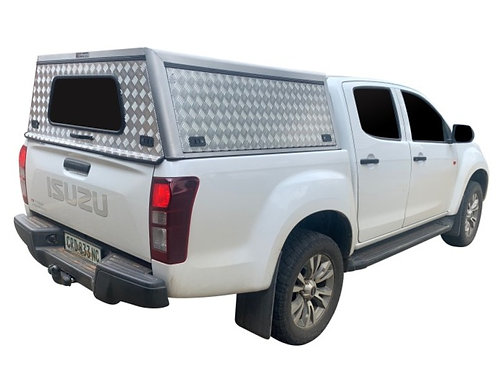 Entry Level Isuzu KB Double Cab Canopy - GZ Aluminium Canopies