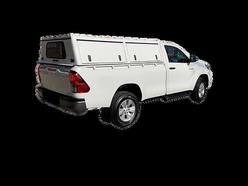 Mid Range Single Cab Canopy - GZ Aluminium Canopies