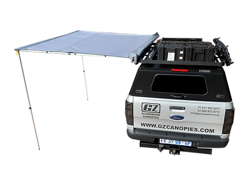 2.5m Pull Out Awning - GZ Aluminium Canopies