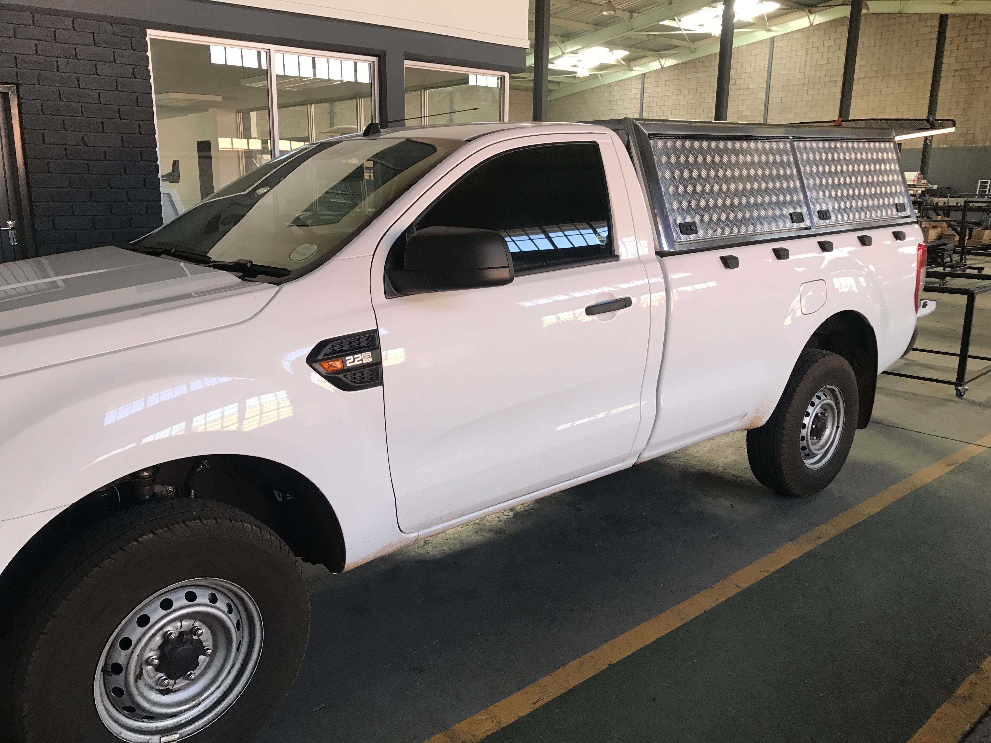 Single cab Ford Ranger Entry Level