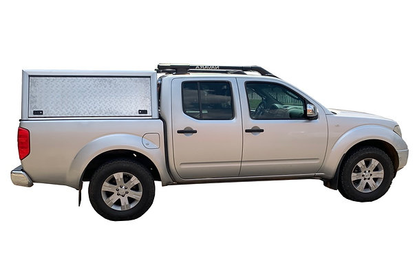 Entry Level Nissan Navara Double Cab Canopy - GZ Aluminium Canopies
