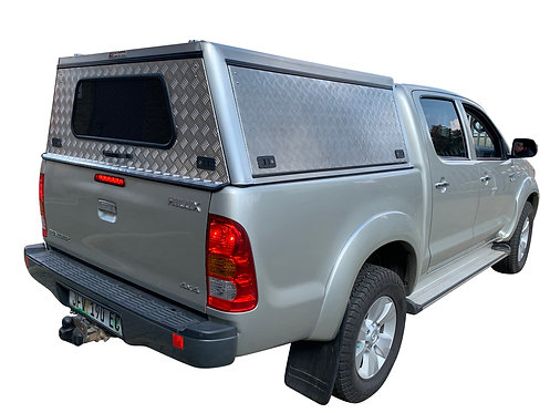Entry Level Level Hilux Vigo Double Cab Canopy - GZ Aluminium Canopi