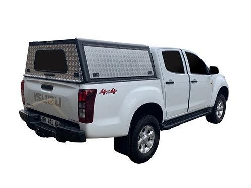 Entry Level Plus Isuzu KB Double Cab Canopy - GZ Aluminium Canopies
