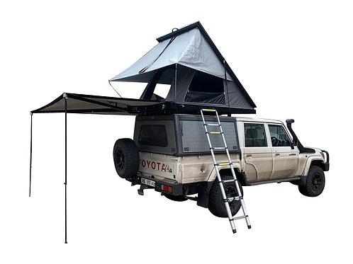COMBO Carbon Fibre Rooftop Tent + 270 Degree Awning - GZ Aluminium Canopies