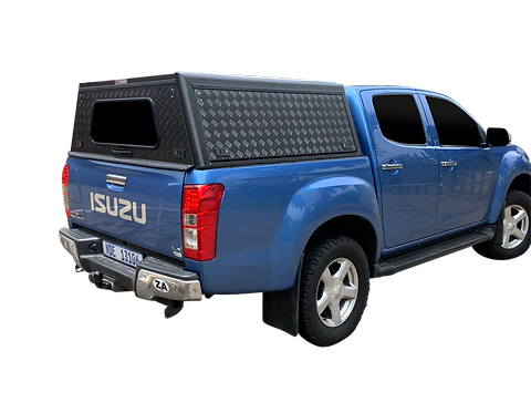 Mid Range Isuzu KB Double Cab Canopy - GZ Aluminium Canopies