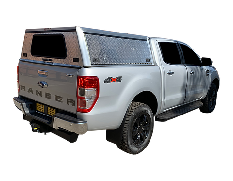 Entry Level Ford Ranger Double Cab Canopy - GZ Aluminium Canopies