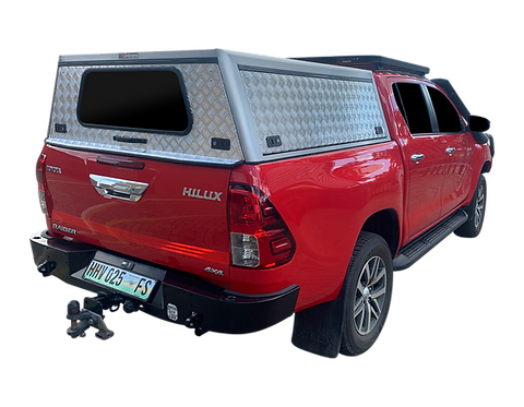 Entry Level Level New Hilux Revo Double Cab Canopy - GZ Aluminium Canopi