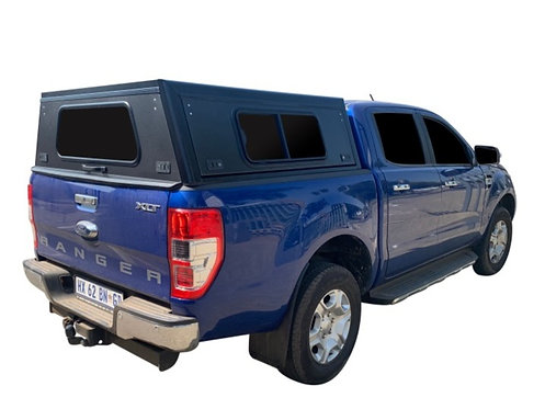 Mid Range Ford Ranger Double Cab Canopy + Side Windows - GZ Aluminium Canopies