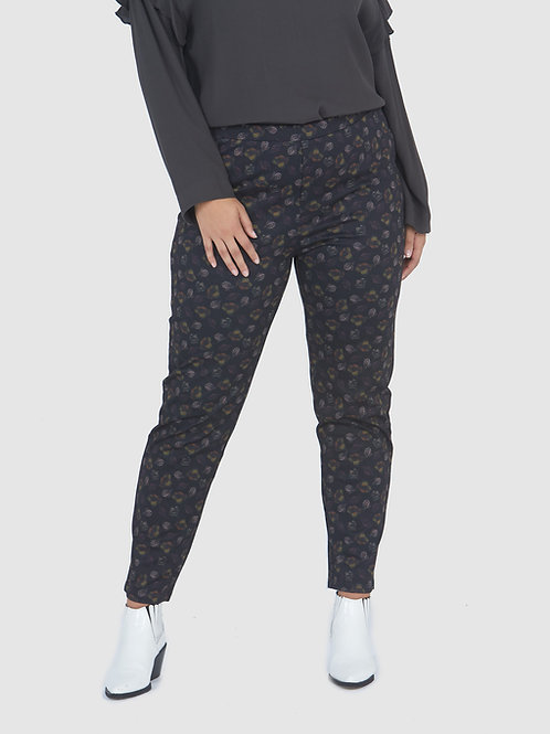Essential Slim Fit Pant - Autumn Leaf Print