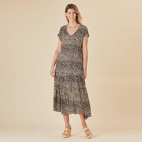 Leopard Love Print Dress