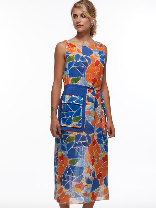 Mosaic Pocket Dress