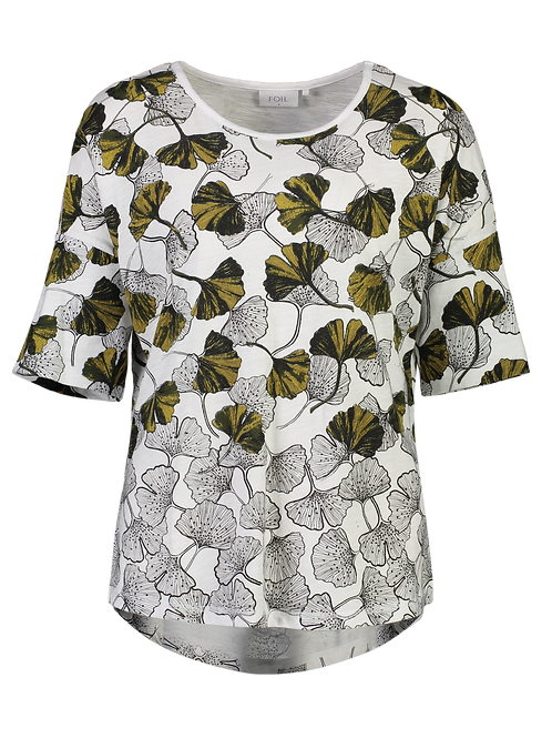 Art Smart Tee - Gingko Print