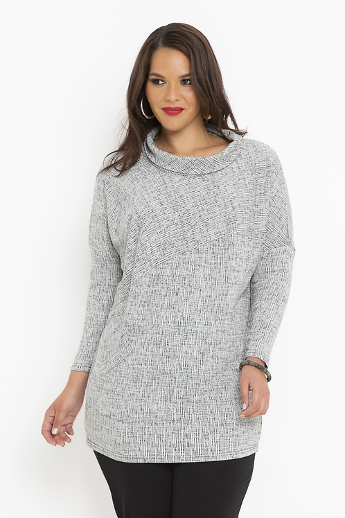 Marle Knit Angle Top