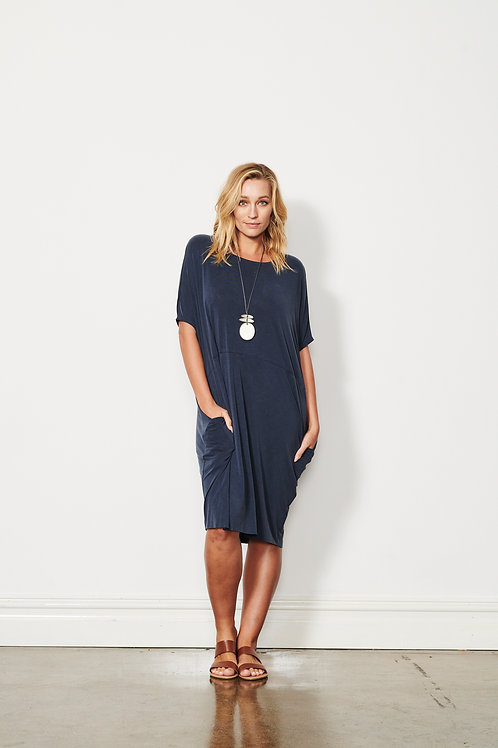 Relaxed Dress - Side Pockets