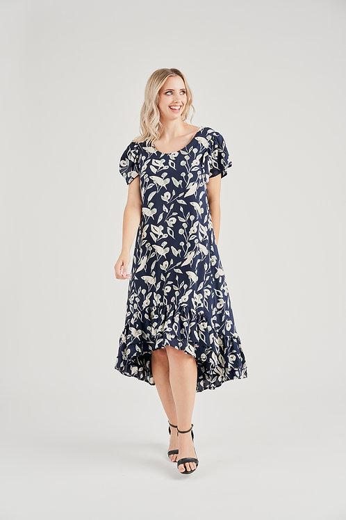 Rayon Digital Print Dress