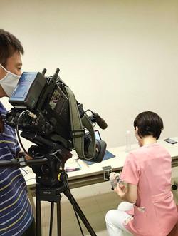 DVDの動画撮影風景