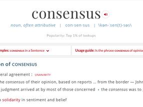 Consensus and the Blockchain