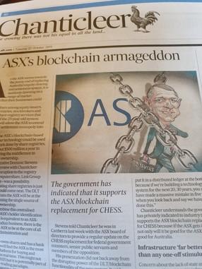 'ASX's Blockchain Armageddon'