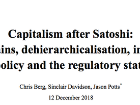 'Capitalism works differently after Satoshi'