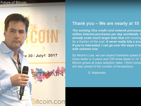 The Bitcoin community has just had its half-time locker room speech...and it's a ripper!