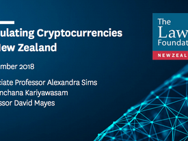 Recommendation 'The (New Zealand) IRD accepts cryptocurrencies for the payment of taxes.'