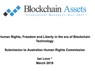 Human Rights, Freedom and Liberty in the era of Blockchain Technology