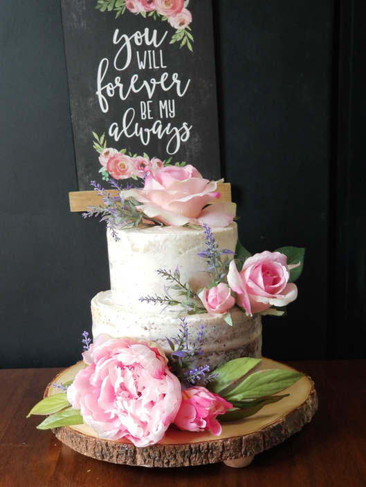 Noni's Sweet Catering Wedding Cakes