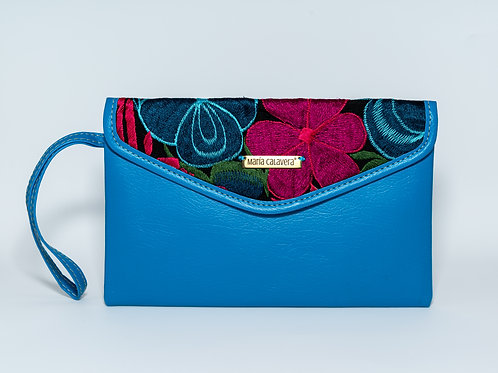 Amorcito Clutch [Blue + Pink]