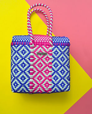 Blue and pink medium handwoven bag.jpg