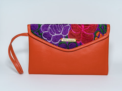 Amorcito Clutch [Orange + Purple + Red]