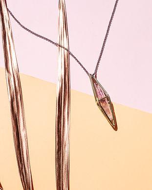 MARIA CALAVERA Crystalized Prism Amethis