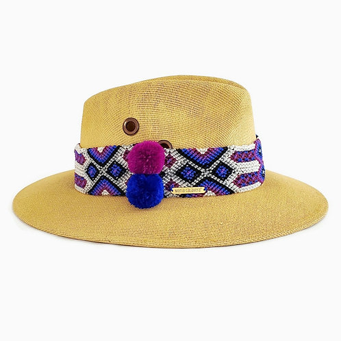 Agave Hat - Purple