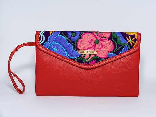 Amorcito Clutch [Red + Pink + Blue]