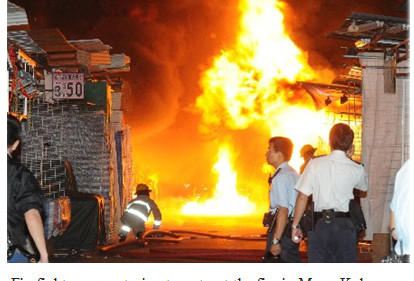 Fa Yuen Street counts cost of arson