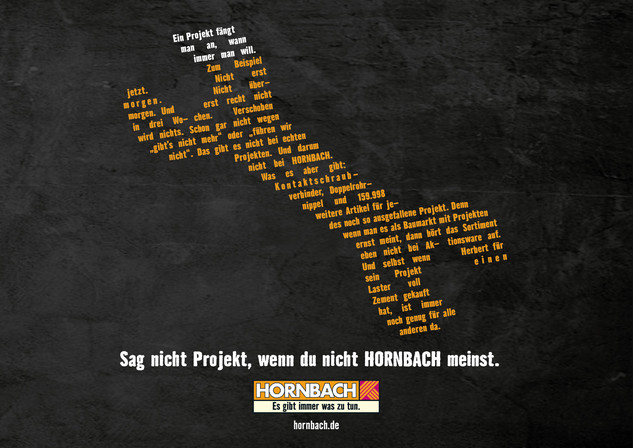 HORNBACH - SNPWDNHM - LONGCOPY
