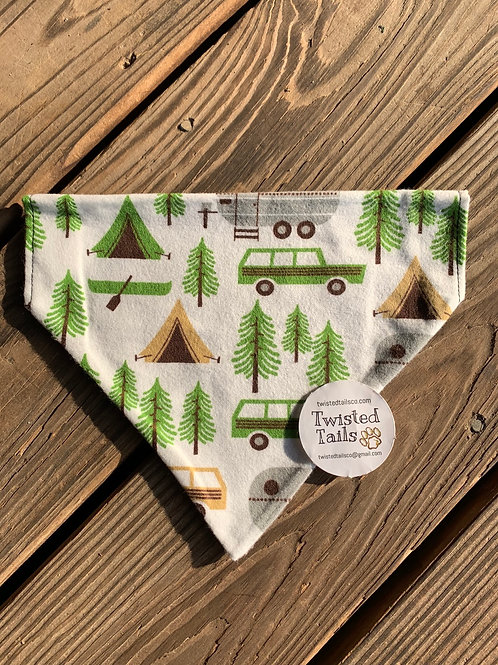 Campers bandana or bowtie