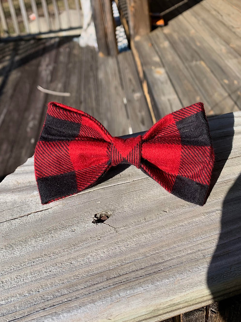 Buffalo Plaid Bandana or Bowtie